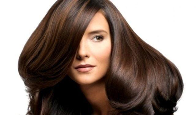 Тонирование на темные длинные волосы фото