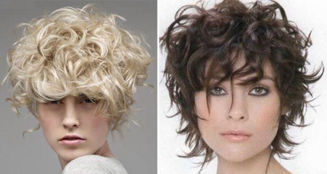 химия волос фото до и после на средние волосы