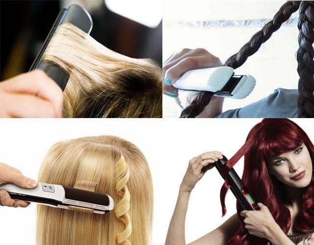 Прически с утюжком на длинные волосы
