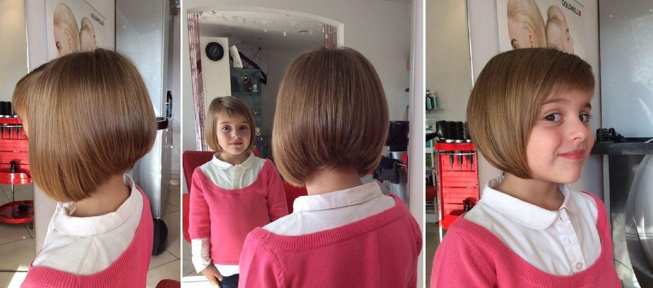 Короткие стрижки детское для девочек