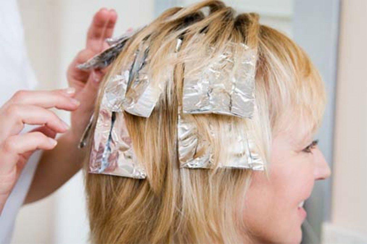 Чем заменить фольгу при окрашивании волос